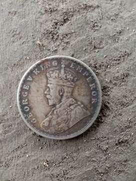 Old coin 1919 George V King Emperor