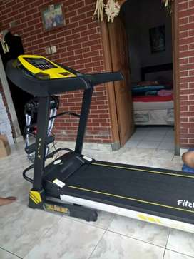 solusi fit treadmill puji series 3 step manual incline_FULL