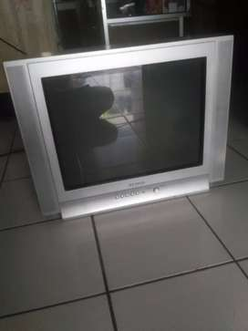 "Di jula tv Samsung 21"" layar datar. Normal"