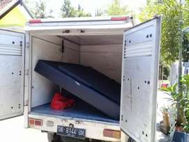 Jasa sewa mobil pick up box tertutup, layanan pickup dengan driver