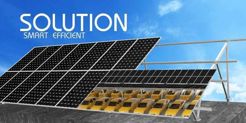 Solar Energy system For 3 HP Tubewell Pumping.