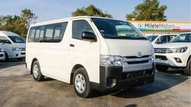 Get New or Used Toyota Hiace just on 20% Downpayment..