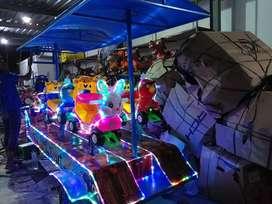 Playground taman EK odong odong goyang lampu selang hias