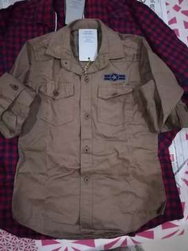 Boys shirt. Size 20 to 36 ' 500 no's