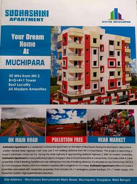 3bhk flat muchipara road front project