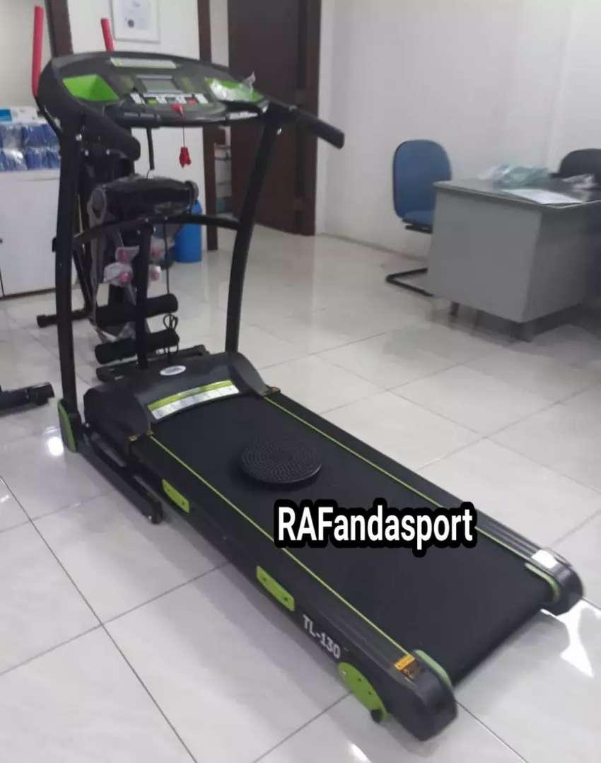 TL-130 Treadmill Elektrik 3 Fungsi Mesin 2Hp 0