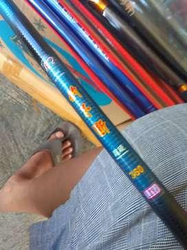 Stik tegek fiber 3,6 meter, merk Diao Biduan.