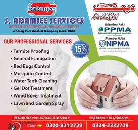 Fumigation Services Discounted offer 15%