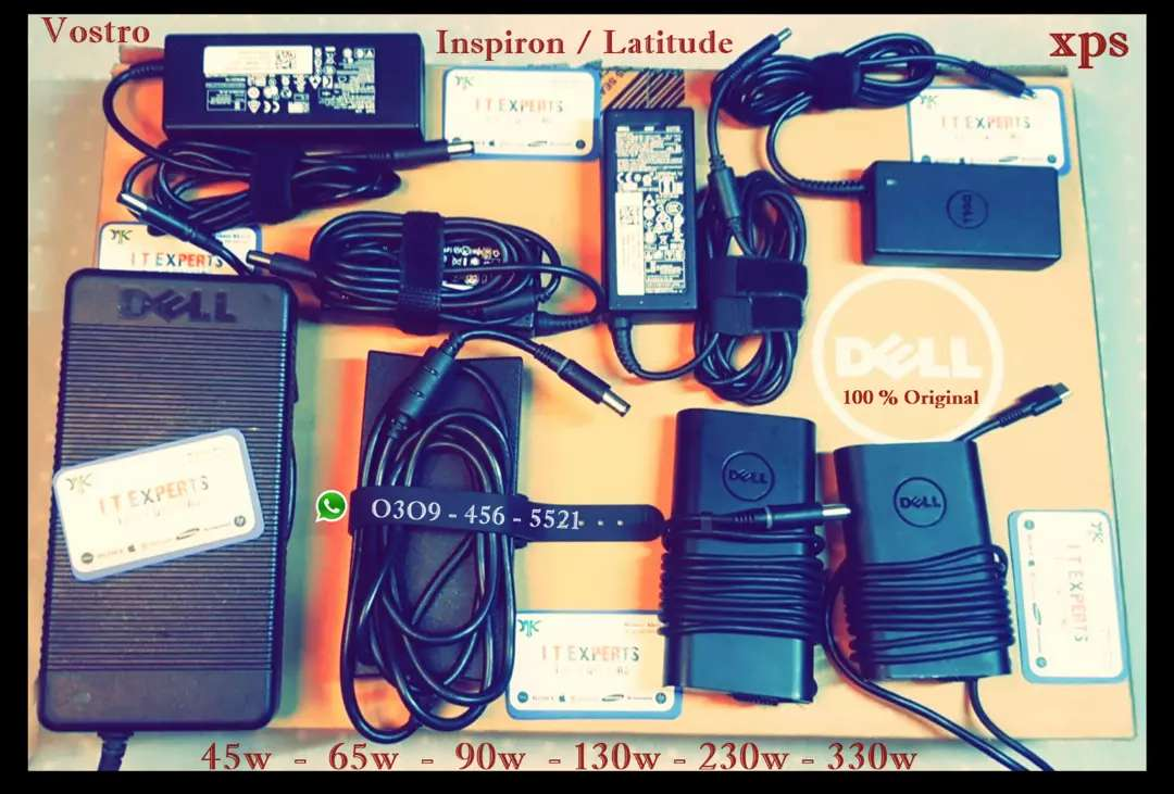 Original Laptop Charger Dell HP Lenovo Sony & All other brand / Model