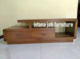 Meja tv bufet tv cabinet model retro