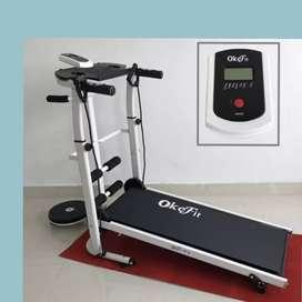 treadmill manual GH-045 tredmil alat olahraga lari