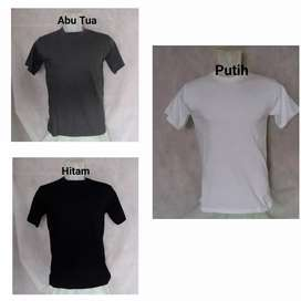 Kaos Polos / Kaos Oblong / Kaos Katun / Kaos Lengan Pendek