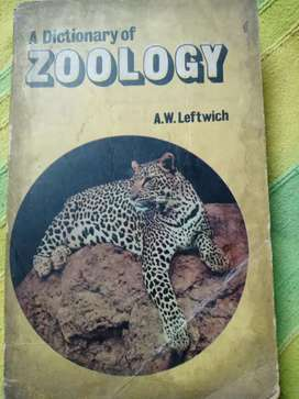 A Dictionary of Zoology by A. W. Leftwich