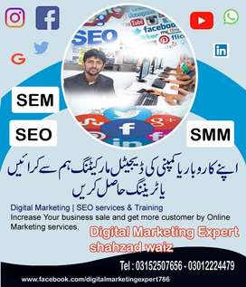 I am interested in digital marketing of your business