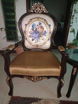 Coffee table Victoria chair sofa dewan