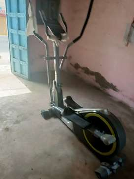 The BH Fitness G2330 Elliptical has a foldable design to transport the