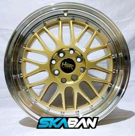 Jual velg racing HSR Ring 16 cocok untuk mobil Brio,Agya (bisa Credit)