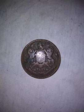 Old valuable coin year 1835