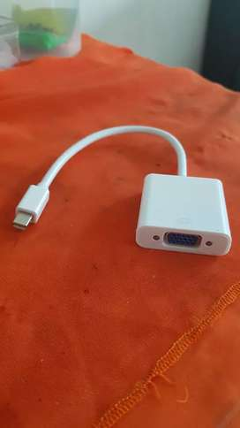 Converter Mini Display To VGA Macbook