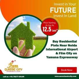 Luxury plot for sale in jewar airport ke pass