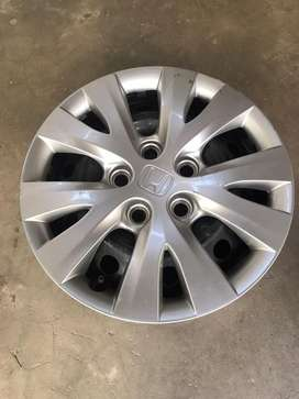 Honda Civic rebirth original rims with wheel cup 2014