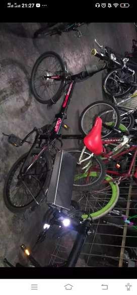 """Dijual sepeda lipat listrik 20"""""""