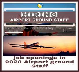 Hiring in the airport ground Staff