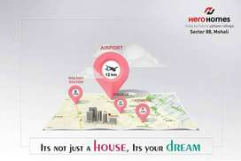 Grab best location Book flat in Hero Homes mohali Sector 88