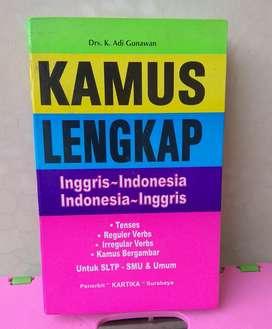 Kamus Lengkap Inggris - Indonesia Penerbit Kartika (Bekas)