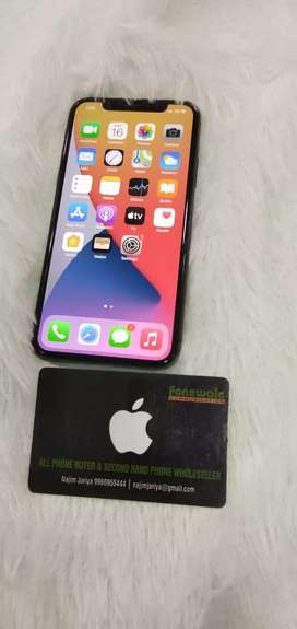 Apple IPHONE X 256GB GREY GOOD CONDITION AT JUST 29990/-