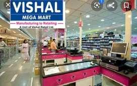 Come on_boys_nd girls#urgent requirement_VISHAL_Mega_Mart.