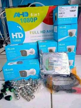 Paket kamera Cctv lengkap dengan pemasangan area Bandung