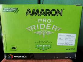 Brand new Amaron battery with 48 months warranty sale in 2K(AP-BTZ9R)