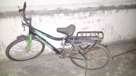 A  bicycle in good condition