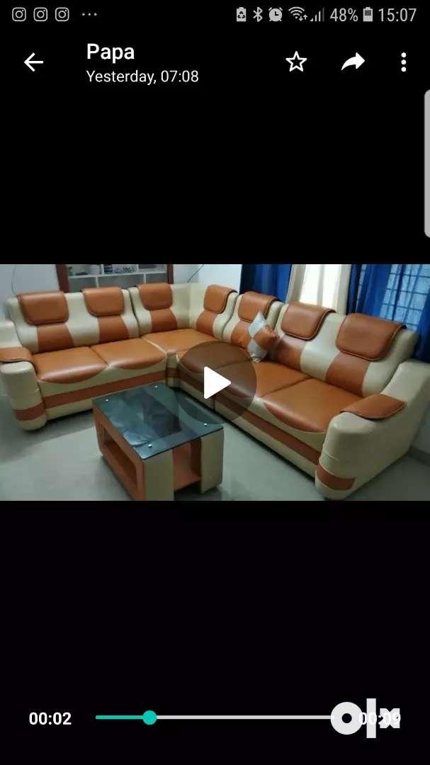 Seven seater Sofa(price negotiable)