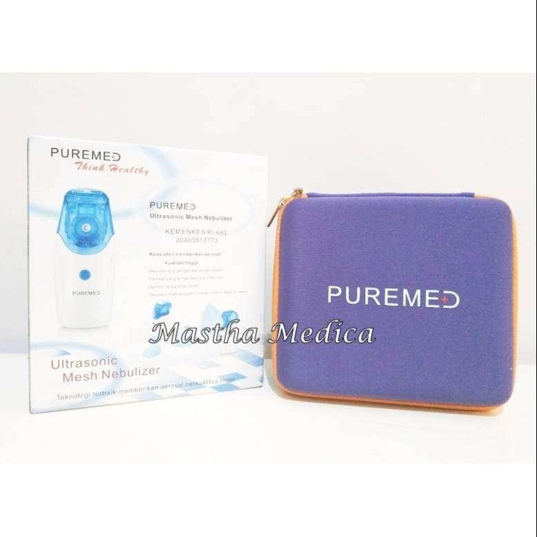 Alat Bantu Pernafasan Ultrasonic Mesh Nebulizer Portable Puremed 0