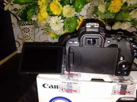 Canon camera 200 d two lines