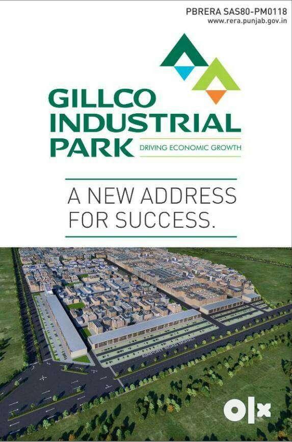 500 gaj plot on sale in gillco industrial park. 0