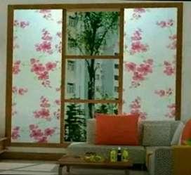 Melayani pemasangan sunblas stiker riben film wallpaper dll panggilan