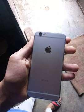 I phone 6 screen glass is crack or koi diket nahi haa or with charger