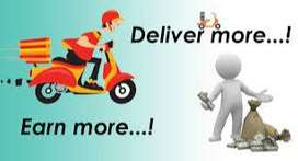 Earn money working as food delivery executive