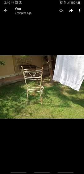 Lawn Chairs Table for sale