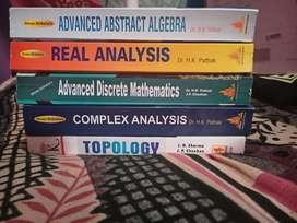 M.S.C MATHEMATICS 1st and 2nd semester