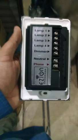 Remote switch board with touch sheet