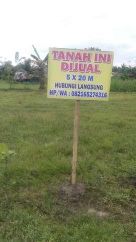 Dijual murah tanah kaplingan