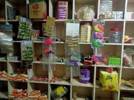Kirana shop selling