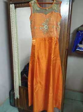 Party Wear Gown, new condition