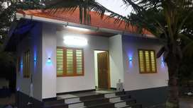 beach frontage new home stay for  sale in  chellanom beach kochi..