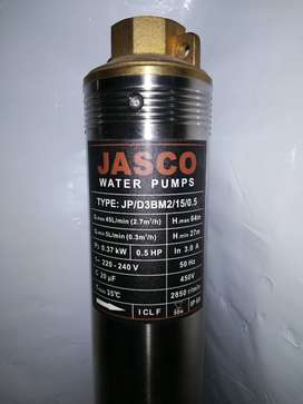 HP 0.5 Submersible missile Water Pump Deep Well. 100% Copper Jasco New