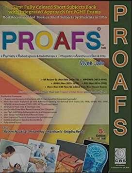 Proafs mbbs book